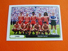 527 EQUIPE TEAM NEDERLAND 1988 FOOTBALL PANINI UEFA EURO 2012