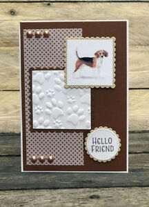 A4 Embossed Card - Pack 5 sheets - Card making Scrapbooking - 4 Variants