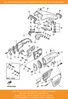 YAMAHA Grill, Air Intake 1, 1FK-2837N-00 OEM VMAX12 VMX12 VMX1200