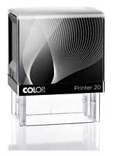 Self Inking Stamp Colop Printer 20 36mm x 12mm 3 Lines  FREE EXPRESS POST