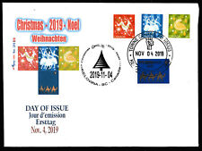 Christmas 2019 - FDC with complete set of 4 CDN stamps
