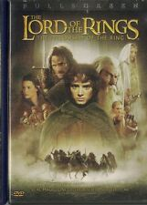 The Lord of the Rings The Fellowship of the Ring DVD 2002 2-Disc Set Full Screen