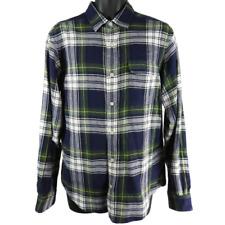 Cremieux Multicolor Plaid Long Sleeve Shirt Men's Size Medium