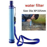 Water Straw Tube Purifier Survival For Outdoor Camping Hiking New New