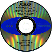 ASUS GENUINE VINTAGE ORIGINAL DISK FOR A7V333 Motherboard Drivers Disk M247