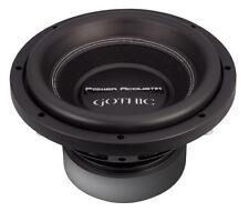 "NEW Power Acoustik Gothic GW3-10 1000 Watts 10"" Dual 2 Ohm Car Audio Subwoofer"