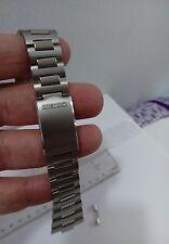 Vintage Genuine Seiko Stainless Steel Bracelet 20mm (New)  Japan Made BAND NOS
