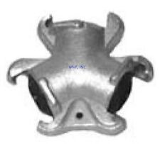 TRIPLE CONNECTOR UNIVERSAL CROWSFOOT COUPLING CHICAGO FITTING PLATED IRON SFTW00