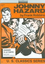 JOHNNY HAZARD U.S. CLASSIC SERIES 4, 5, 6, 7, 8 COMIC STRIP REPRINTS 1947-1951