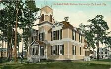 Florida, FL, De Land, De Land Hall, Stetson University Early Postcard