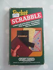 POCKET SCRABBLE BOARD GAME  - TRAVEL VERSION