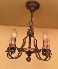 Vintage Lighting six 1920s fixtures by Moe Bridges