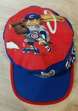 Vintage Chicago Cubs Jack Davis Design Baseball Cap Hat Classic. Rare.