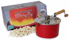 Wabash Valley Farm Whirley Pop 6 Qt Color Changing Stovetop Popcorn Popper Maker