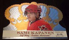 SAMI KAPANEN 2000-01 Crown Royale Hockey PREMIERE DATE #22 Ser #d /80 Hurricanes