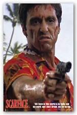 CRIME MOVIE POSTER Scarface Hawaiian Shirt