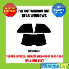 SUBARU IMPREZA / Impreza WRX 4 portes 1993-2000 5% Limousine arrière