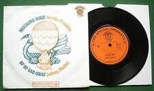 "Aretha Franklin railleuse oiseau + Johnny Mathis Up Up & Away CBS 1964 7"" Unique"