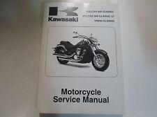 2007 2008 Kawasaki Vulcan 900 Classic LT VN900 Service Shop Repair Manual New