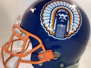 Illinois Fighting Illini Size Large Riddell Custom Trophy Football Helmet