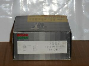 Spark Plug-Super Bosch 7587 HR10BCY Box of 10 Made in Germany