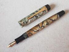 Stylo plume vulpen fountain pen fullhalter penna nib MONTBLANC 322 writing 鋼筆
