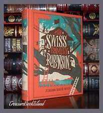 Swiss Family Robinson by Johann D. Wyss New Sealed Leather Bound Collectible Ed
