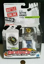 Hasbro Beyblade Battles Metal Fury B-150 Scythe Kronos T125EDS, Stamina RARE
