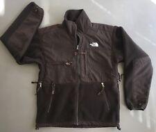 EUC The North Face Brown Fleece DENALI Zip Jacket Coat Polartec Vented Mn S