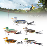 3D Topwater Suicide Floating Duck Topwater Bass, Muskie, Pike Fishing Lure