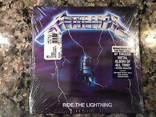 Metallica Ride The Lightning New Sealed Cd! 1985 Iron Maiden Judas Priest Dio