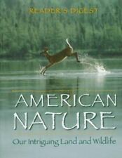 COFFEE TABLE BOOK READER'S DIGEST AMERICAN NATURE OUR INTRIGUING LAND & WILDLIFE