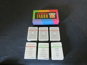 1992 CELEBRITY TABOO GAME PARTS ( CHOOSE ).