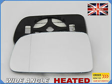 Wing Mirror Glass Honda CRV 1996-2006 Aspheric HEATED + PLATE Left Side #JH005