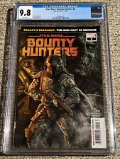 Star Wars: Bounty Hunters #5 – Boba Fett Cover – Marvel 11/2020 – CGC 9.8 NM/MT