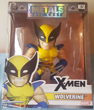 "Jada Metal Die Cast Marvel X-Men ""Wolverine"" 4"" Action Figure"