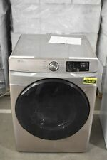 "Samsung Dve45R6100P 27"" Platinum Front Load Electric Dryer Nob #104627"