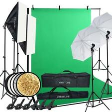 Professional Photography Kit Lighting Equipment Soft Light Umbrella Softbox Bulb