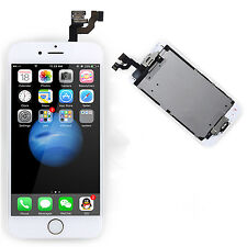 Full LCD Touch Screen Digitizer+Gold Home Button+Camera For Apple iPhone 6 4.7""