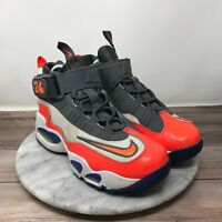 Nike Air Griffey Max 1 White/Total Crimson/Hyper Blue 437353-141 Youth Size 5