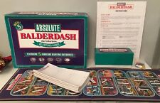 ABSOLUTE BALDERDASH  - THE HILARIOUS BLUFFING GAME - BY GAMEWORKS - COMPLETE!