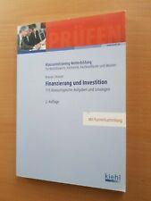 Kiehl KLAUSURENTRAINING Krause FINANZIERUNG und INVESTITION 115 Klausuren 2. A.