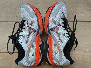 mizuno womens running shoes size 8.5 in europe orange wear