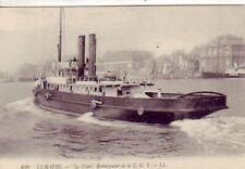 CPA 76 LE HAVRE Remorqueur LE TITAN de Paquebots transatlantiques de la C.G.T.