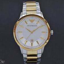 Emporio ARMANI ✣ AR2450 Damenuhr Edelstahl Bicolor Farbe Gold Silber