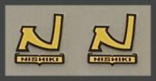Nishiki Seat Tube Badge Decals - Pair (NISH307)