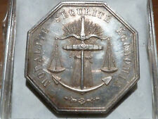 CIR12(298) - BORDEAUX - JETON ARGENT - LA SAUVEGARDE - 1842 - POINCON !