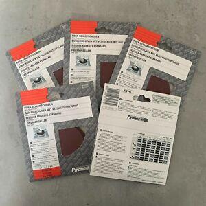 "25 Piranha X32145 100mm 4"" Angle Grinder Abrasive Fibre Sanding Discs 100G"