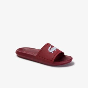 Lacoste CROCO SLIDE 120 1 CMA Beach Pool shoes Sliders Flip Flop SLIPPERS US 11