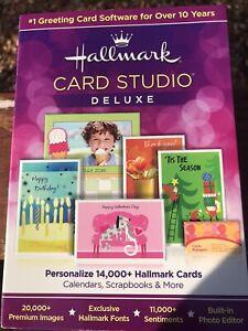 Hallmark Card Studio Deluxe Software 2013 With Bonus Software In Box New Sealed